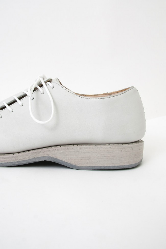 17SS Double Lace-up Short Shoes WHITE