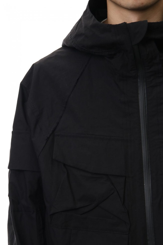 Dolman sleeve mountain parka