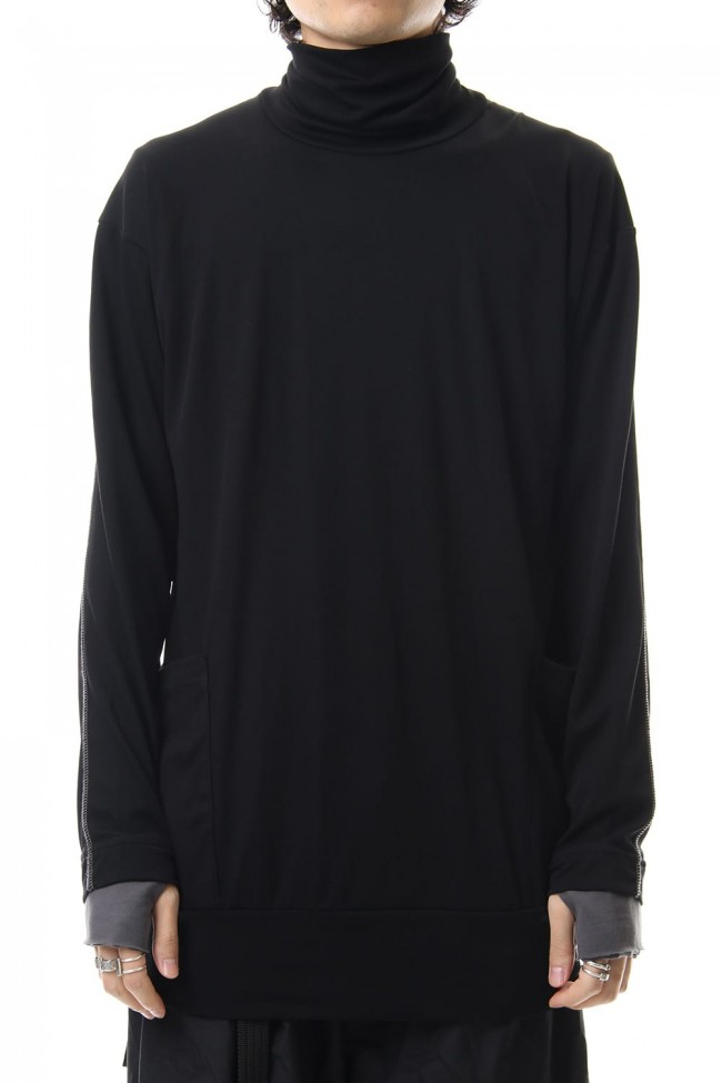 Smooth Turtleneck Long Sleeve T-shirts