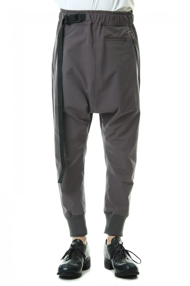Water-repellent Stretch Jogger pants Gray