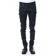 Rigid denim (skinny)-black-Black-28