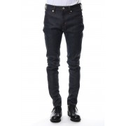Rigid denim (skinny)-Indigo-28