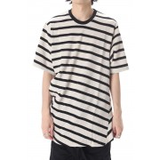 STRIPE T-SHIRT OFF x BK-Off White × Black-1