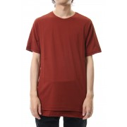 Short sleeve indian cotton jersey (SUVIN)-Red-1