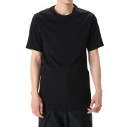 Short Sleeve egyptian cotton jersey (SUVIN) - Black-Black-1
