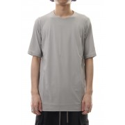 Short sleeve Cotton stretch jersey Loose fit - Plaster-Plaster-1