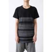 Basic Jersey Print T-shirt-Black-0
