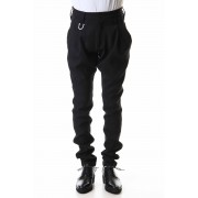 Jodhpurs Slacks-Black-S