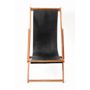 T.A.S (ティーエーエス) RECLINING CHAIR-BLACK-FREE