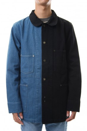 FACTOTUM 19-20AW KUROKI Denim Coverall - indigo