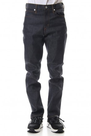 FACTOTUM 19SS Rigid denim straight - Indigo