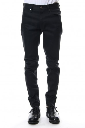 FACTOTUM 19-20AW Rigid denim (tapered)-black