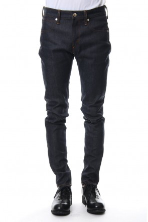 FACTOTUM 18-19AW Rigid denim (skinny)-indigo
