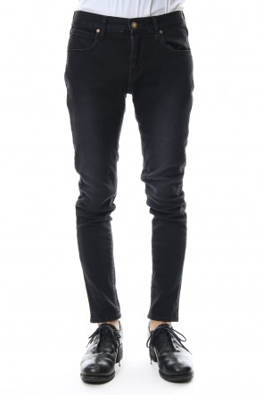 "FACTOTUM 18-19AW E denim skinny pants ""WILLIAM"" - black"