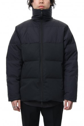 "FACTOTUM 18-19AW ""FACTOTUM×GERRY"" Tent Twill Down Jacket - Black"