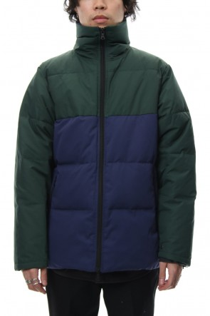 "FACTOTUM 18-19AW ""FACTOTUM×GERRY"" Tent Twill Down Jacket - Navy"