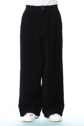 ZIGGY CHEN 20-21AW Wide Wale Corduroy Wide Pants