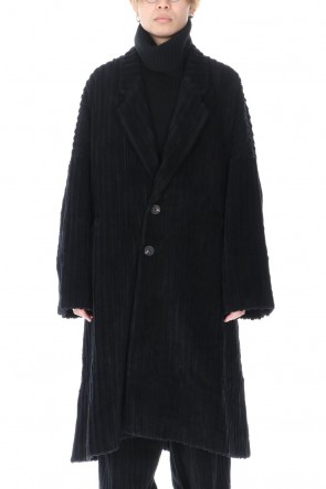 ZIGGY CHEN 20-21AW Wide Wale Corduroy Chester Coat