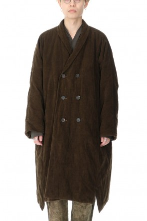 ZIGGY CHEN 20-21AW Corduroy Double Down Coat