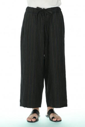 ZIGGY CHEN 21SS Drawstring Baggy Cropped trousers