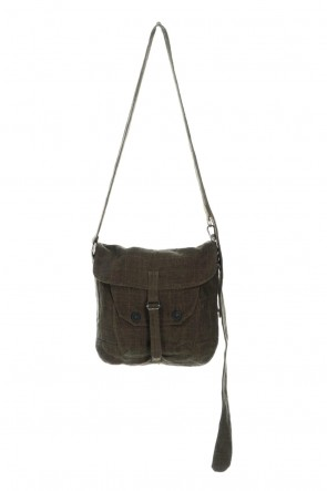 ZIGGY CHEN 21SS Medic Bag Linen Cotton Nomad Check