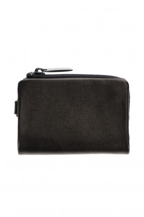 PATRICK STEPHAN Classic Leather micro wallet 'minimal' shine 2