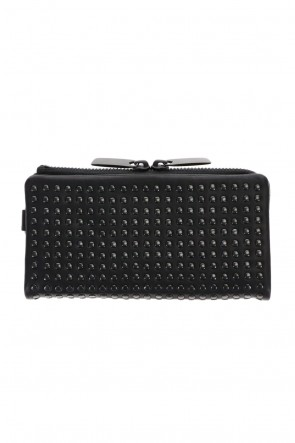 PATRICK STEPHAN Classic Leather long wallet 'all-studs' 2 DAL