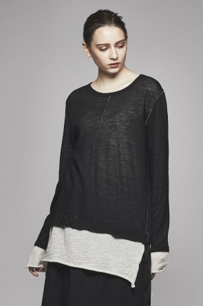 AF ARTEFACT 17-18AW Layered Long Top AL-1170