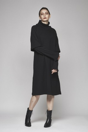 AF ARTEFACT 17-18AW Slit Layered One Piece AL-1489