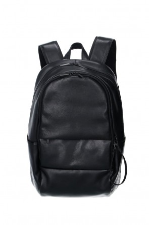 PATRICK STEPHAN Classic Leather backpack 'round double F'
