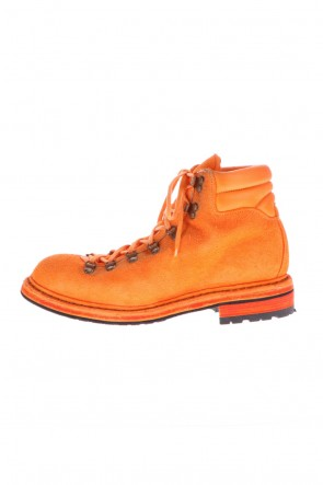 Guidi 20-21AW Hiking Boots Sole Rubber Horse Reverse - Orange