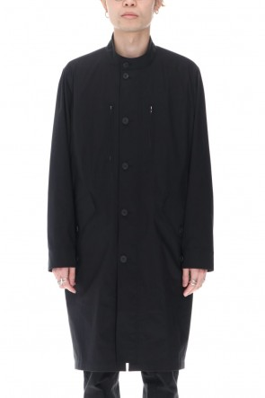 Yamauchi 21SS Salt Shrink Cotton Polyester Mods Coat