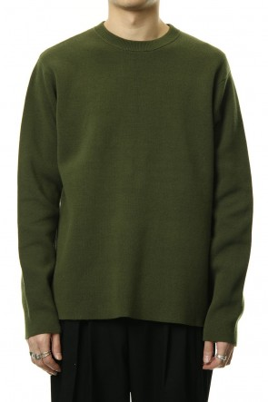 CLANE HOMME 19SS BASIC BOX KNIT TOPS Khaki