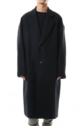 CLANE HOMME 19-20AW OVER SIZE CHESTER COAT