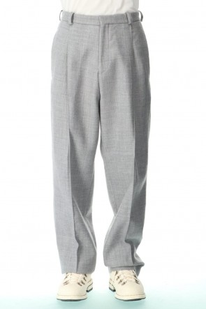 "STEPHAN SCHNEIDER 20-21AW Wide Trousers ""Academic"""