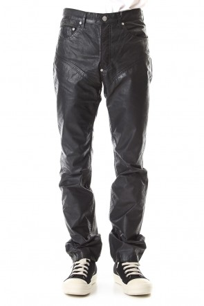 JOHN LAWRENCE SULLIVAN 19-20AW OILED COTTON SWITCHING PANTS