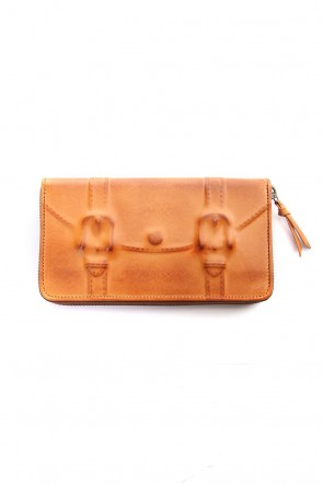 MIHARAYASUHIRO Classic Invisible Long Wallet Camel