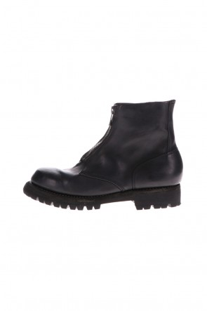 Guidi 20-21AW Front Zip Boots Vibram Sole Horse Culatta Full Grain Leather
