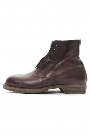 Guidi18-19AWMilitary Lace Up Boots Double Sole - 5305N - Goat Full Grain Leather