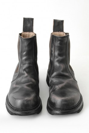 JULIUS 17-18AW SIDE GORE BOOTS COW SKIN