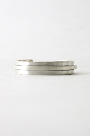 Parts of Four 17-18AW Parts of Four 17-18AW Ultra Reduction Ridge Bracelet 15mm MA