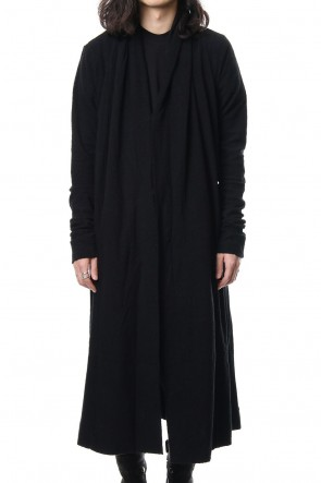 JULIUS 18PF Shirring Long Cardigan