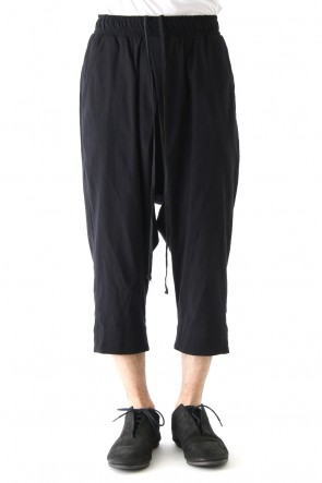 JULIUS 18PF Crossed Tuck Pants