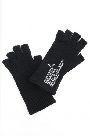 JULIUS 18-19AW Knit Glove