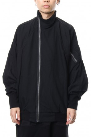 JULIUS 18-19AW Covered Neck MA-1
