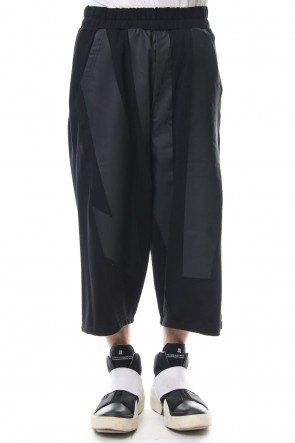 NILøS 18-19AW Kamon Cropped Pants