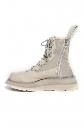 JULIUS 19SS OVERLAYING COMBAT BOOTS