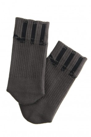 NILøS 19-20AW NIL SOCKS Dark Gray