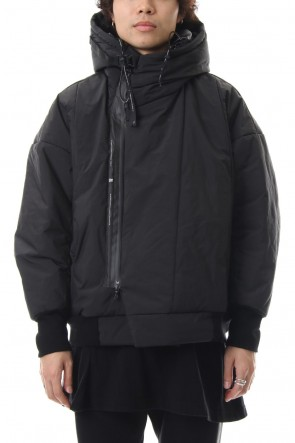 NILøS 19-20AW FIXED PADDING HOODED JACKET Black