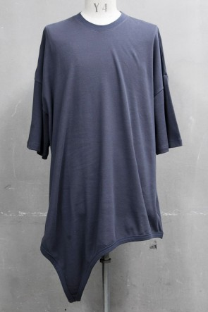 JULIUS 20PS LOOP T-SHIRT Blue Gray